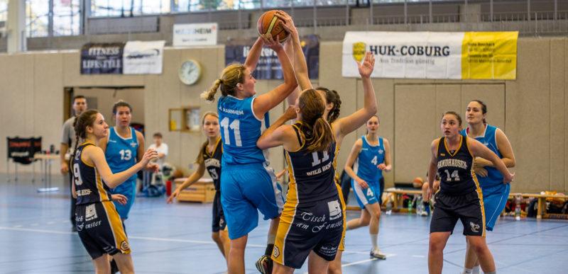 30931513f13f27 Damen 1 - SG Mannheim Basketball