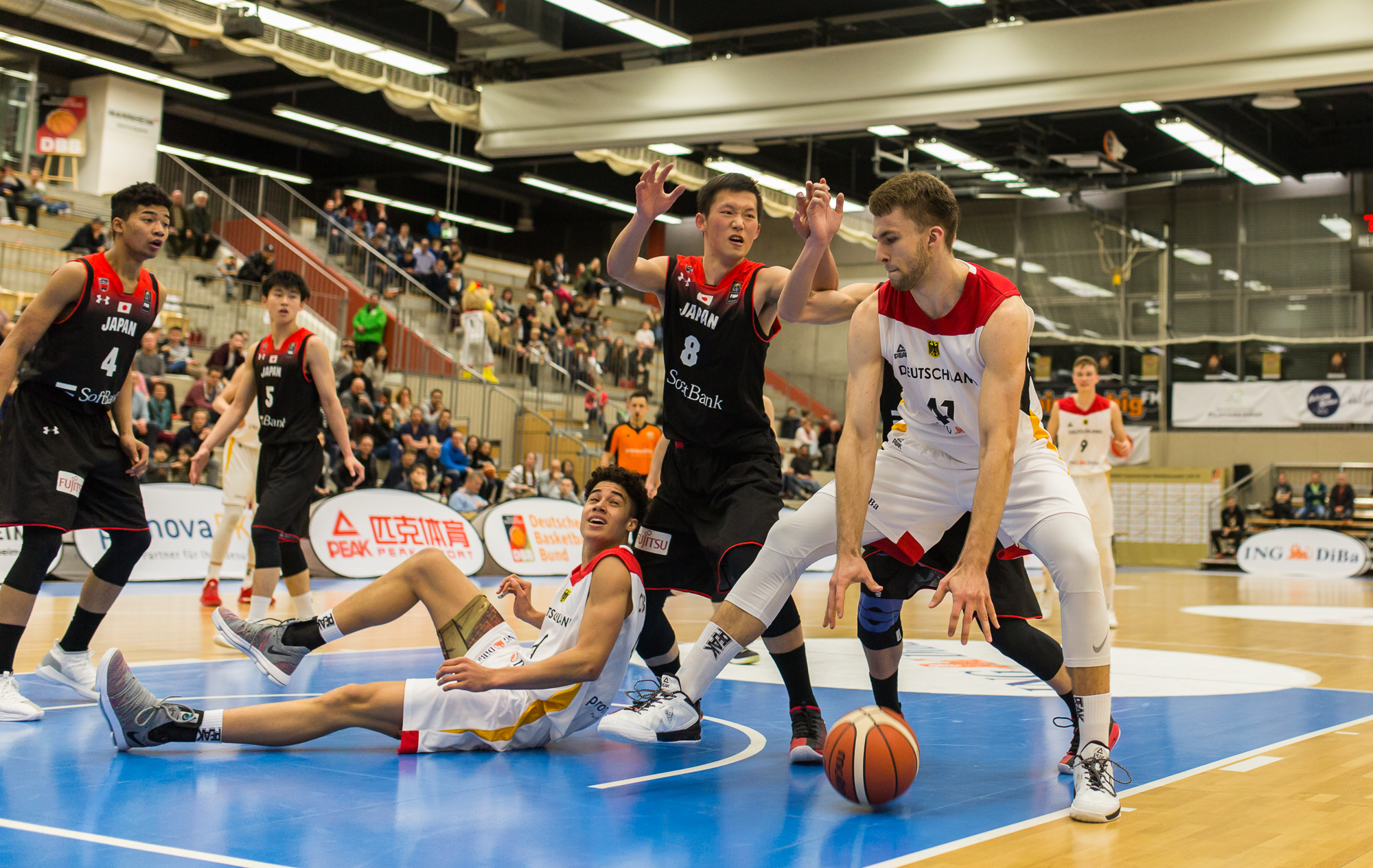 ast 2018 deutschland vs japan sg mannheim basketball. Black Bedroom Furniture Sets. Home Design Ideas
