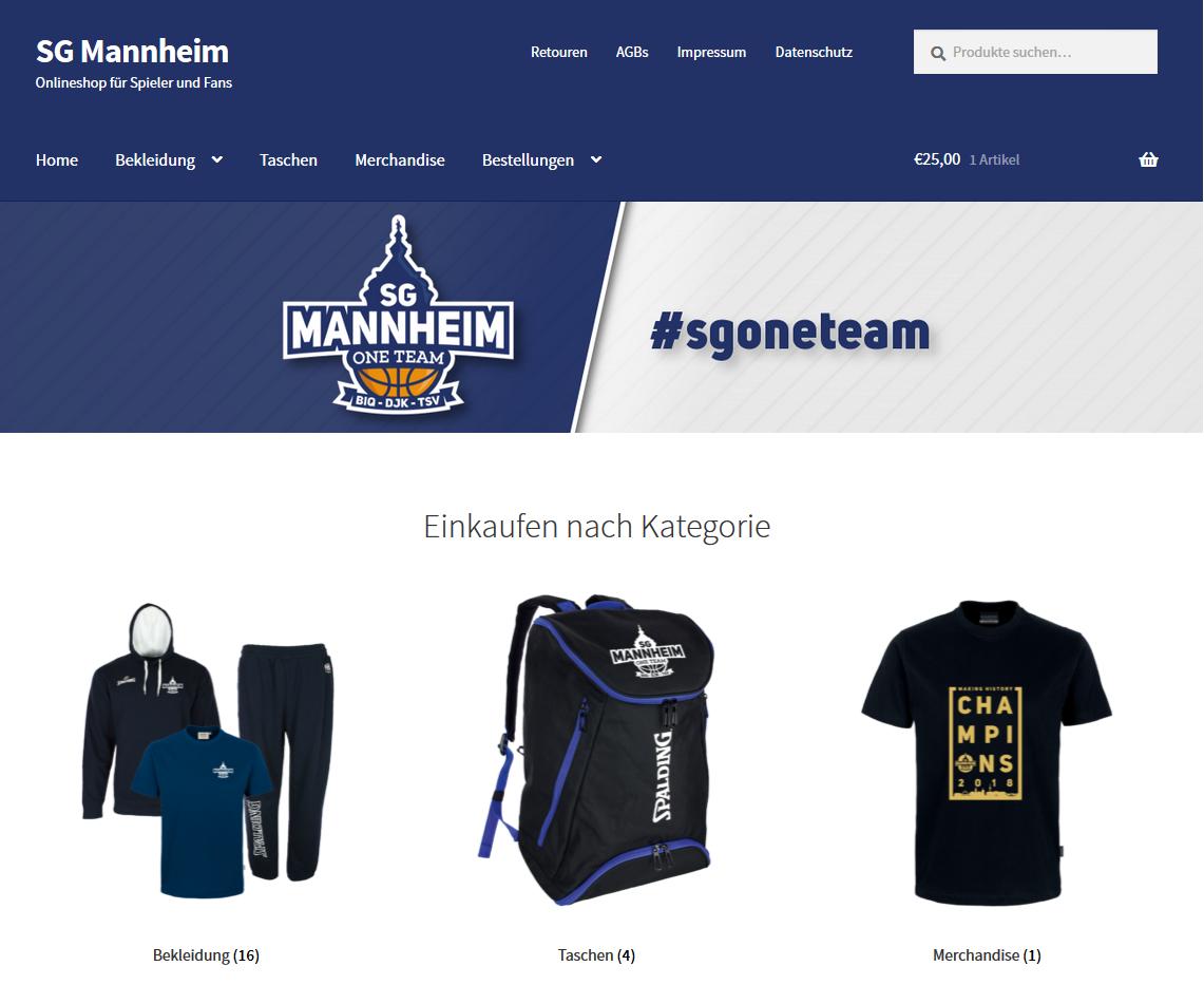 ac8fa8c24fc2ed Bild SG Mannheim Onlineshop - SG Mannheim Basketball